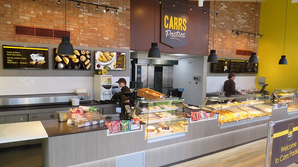 TVC - Carrs Pasties Bolton