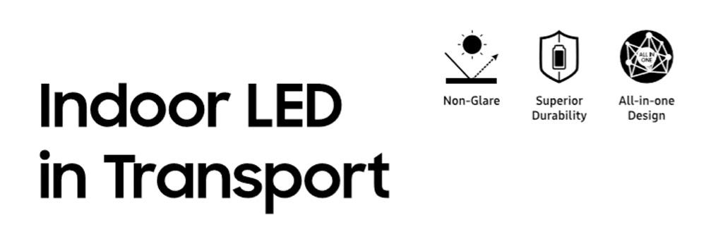 Indoor LED transport