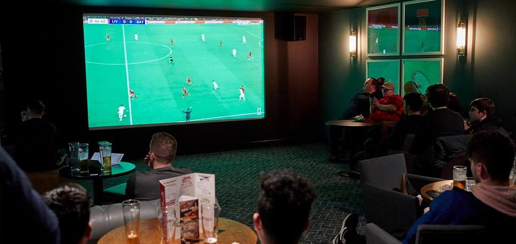 Rileys Liverpool optoma Laser projector