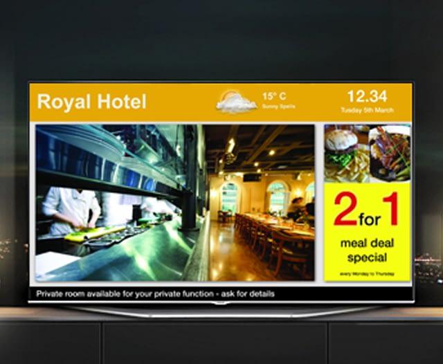 Digital Sigane Hotel TV