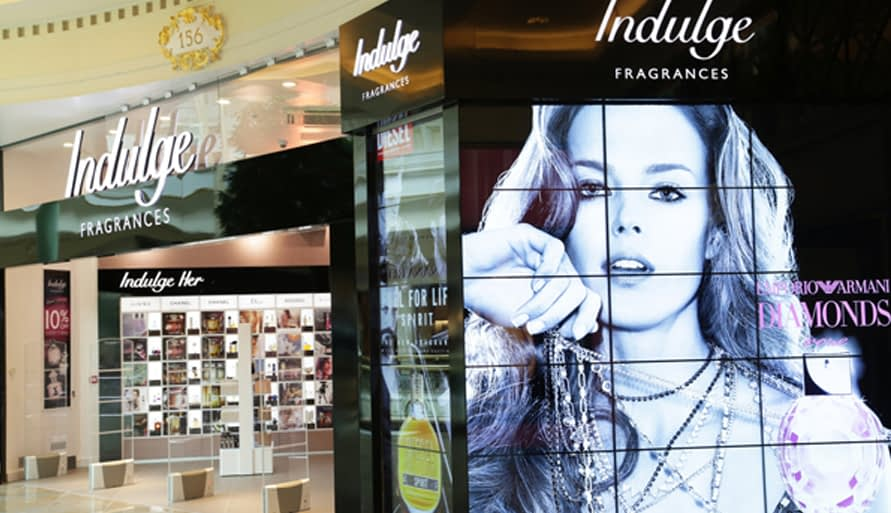 indulge digital signage