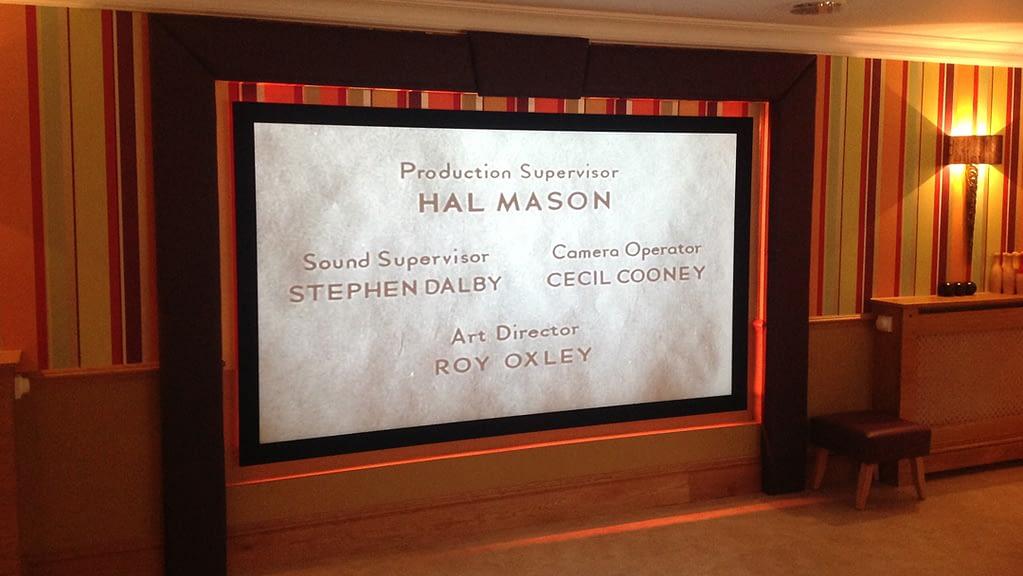 Hallmark Carehome cinema