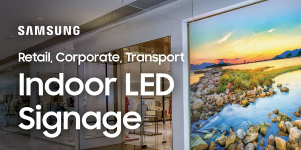 Samsung LED Signage